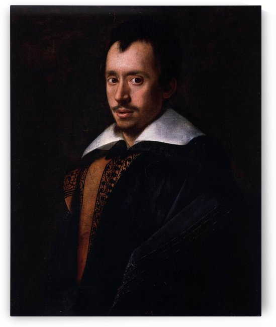 Portrait of the Poet Giambattista Marino by Caravaggio