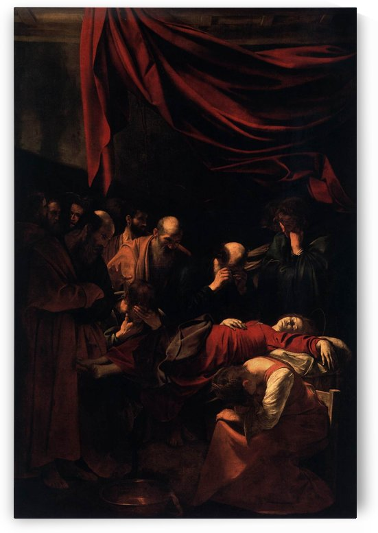Morte della Vergine by Caravaggio