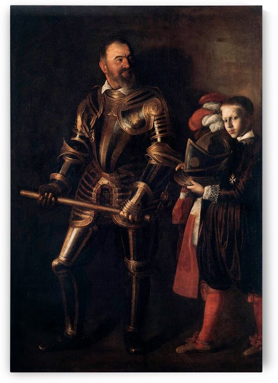 Knight of Malta by Caravaggio