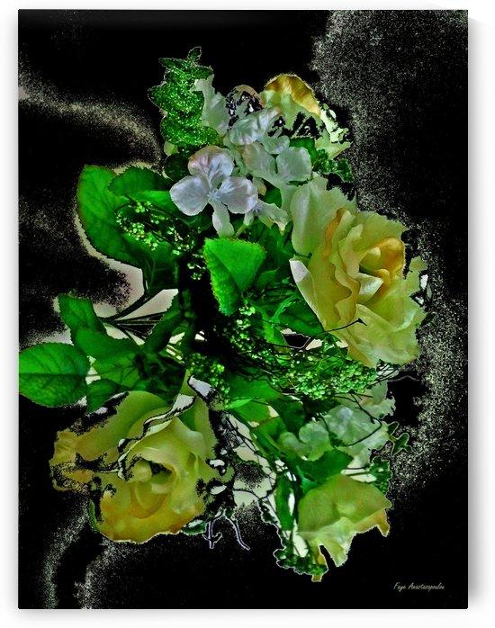 Rhapsody Of Yellow Roses by Faye Anastasopoulou
