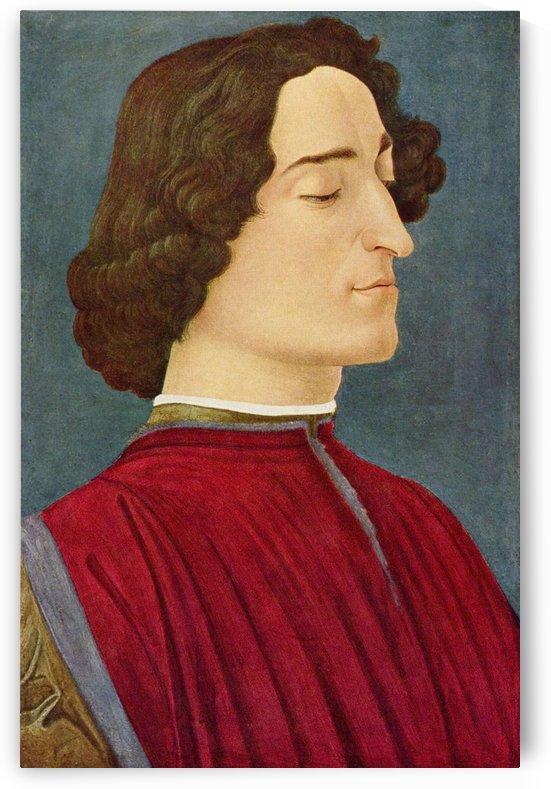 Giuliano de Medici by Sandro Botticelli