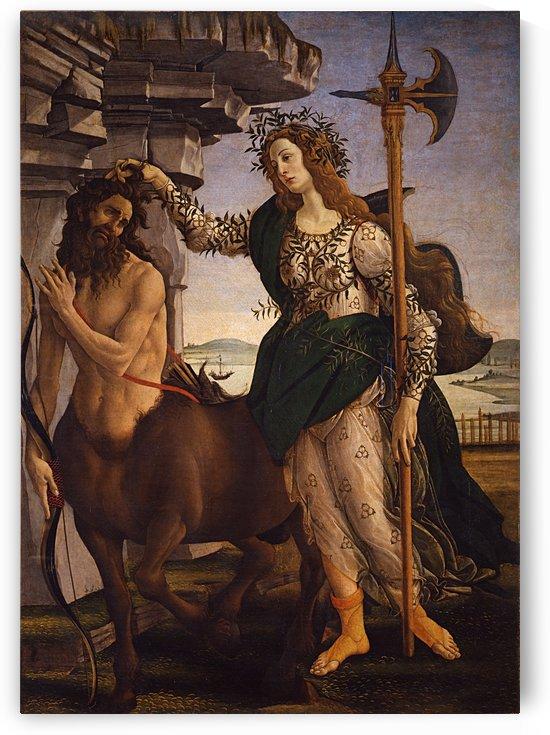 Pallade e il centauro by Sandro Botticelli