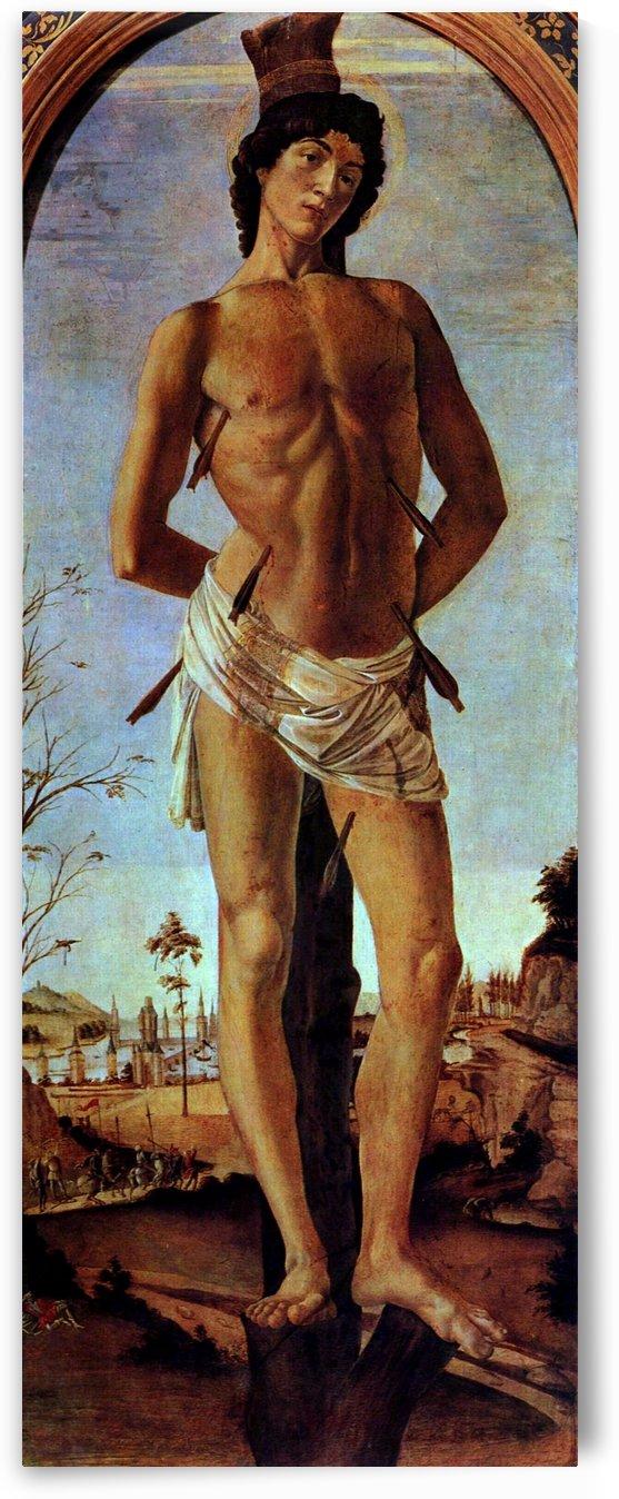 St Sebastian by Sandro Botticelli
