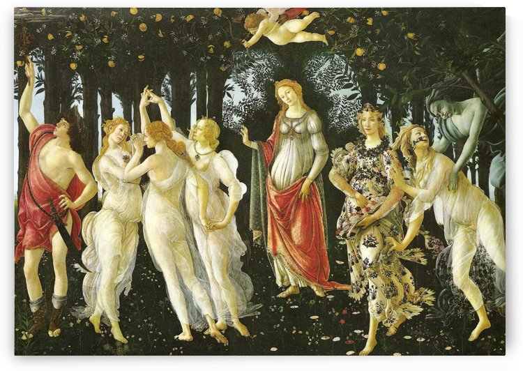 Primavera (Allegory of Spring) by Sandro Botticelli
