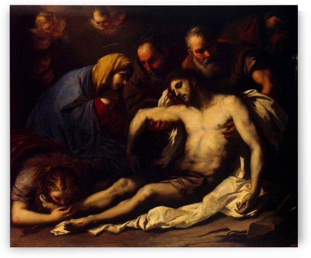 Lamentation by Sandro Botticelli