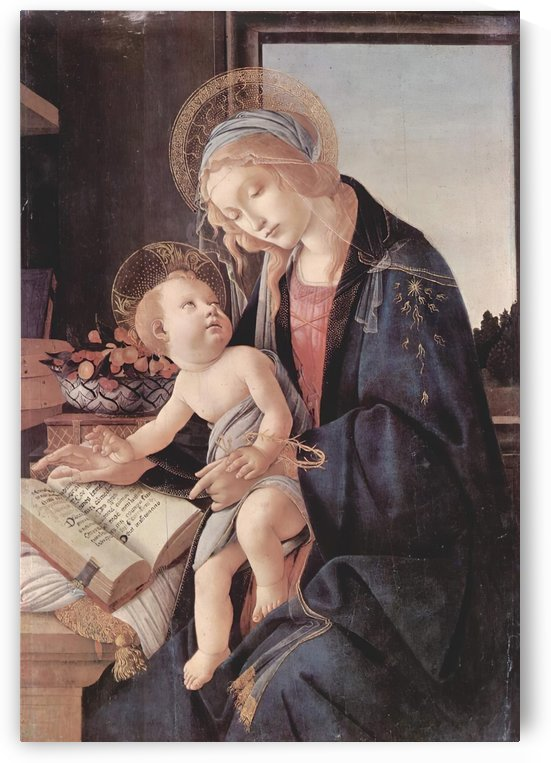 Madonna of the Book by Sandro Botticelli