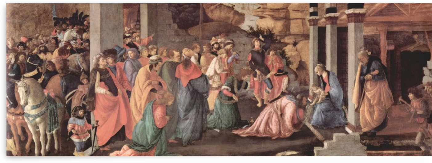Adoration of Christ by the Magi by Sandro Botticelli