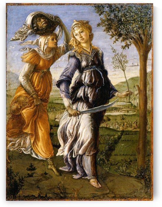 Il ritorno di Giuditta a Betulia by Sandro Botticelli