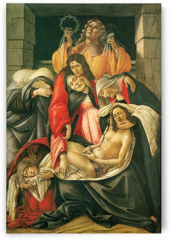 Lamento by Sandro Botticelli
