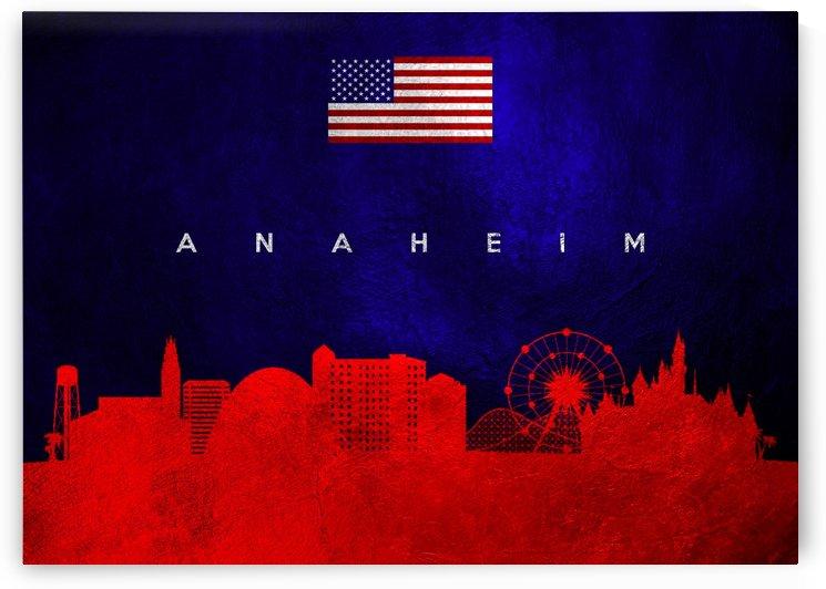 Anaheim California Skyline by ABConcepts