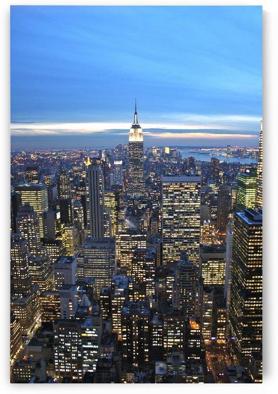 Manhattan Twilight by Tony Forcucci