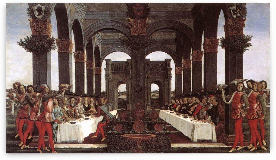 Story of Nastagio degli Onesti by Sandro Botticelli