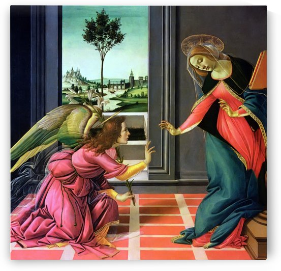 The Holy Ghost Shall Come upon Thee by Sandro Botticelli