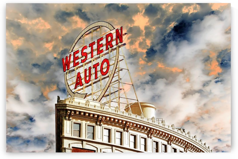 Western Auto Sign Downtown Kansas City 2 by ANDEE DESIGN