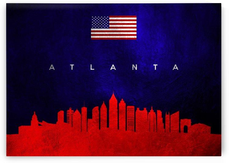 Atlanta Georgia Skyline by ABConcepts