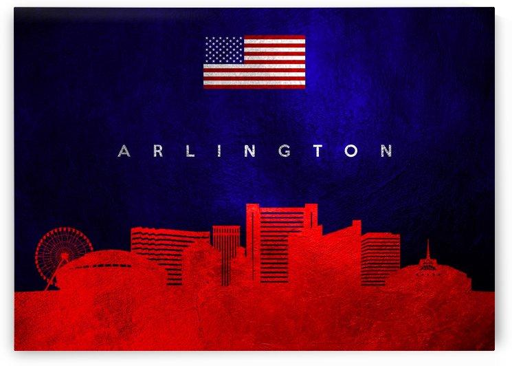 Arlington Texas Skyline by ABConcepts