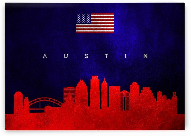 Austin Texas Skyline by ABConcepts