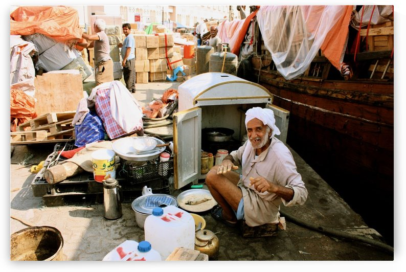 Old Dubai by Tony Forcucci