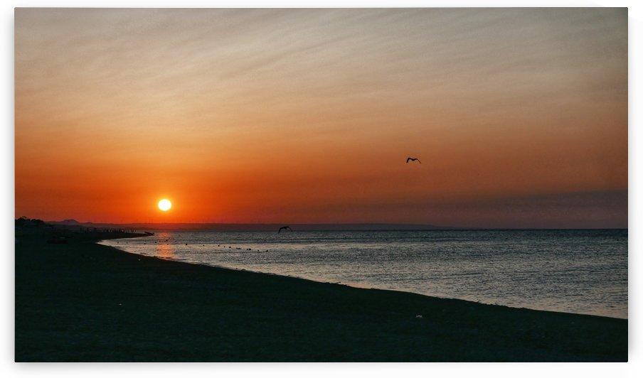 Dawn in South Italy by Elejota