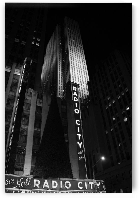 Radio City Noir by Tony Forcucci