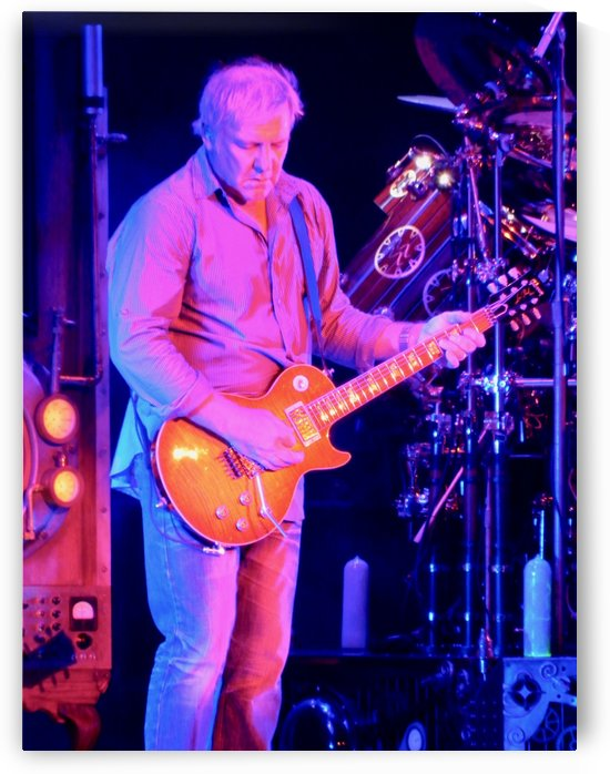 Alex Lifeson of Rush by Tony Forcucci