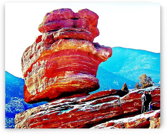 Balanced Rock by Efrain Montanez