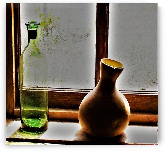 Window Sill by Efrain Montanez