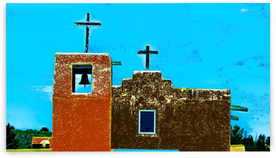 Two Crosses by Efrain Montanez