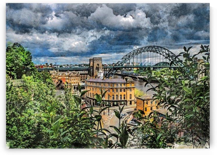 Newcastle upon Tyne city art by Justyna Jaszke
