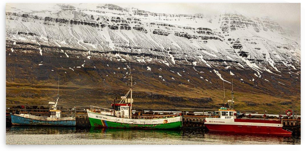 Seydisfjordur Day 2 1943 by Ric Sorgel
