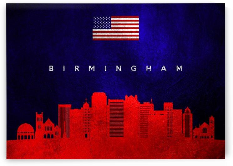 Birmingham Alabama Skyline by ABConcepts