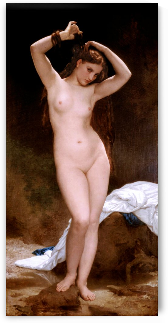 Baigneuse by William Adolphe Bouguereau by xzendor7