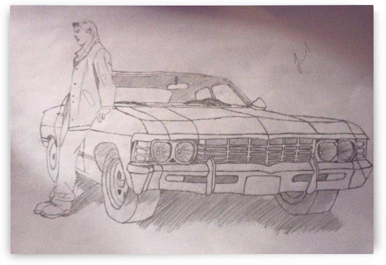 Old Car by P Mihai