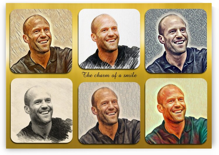 Jason Statham pop star celebrity by Radiy Bohem