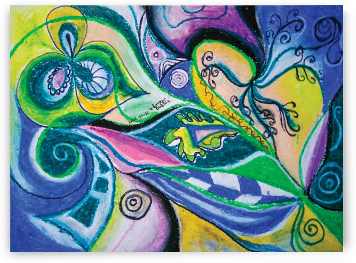 blue green tones by BBS Art