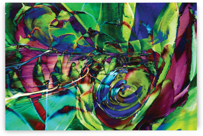 swirling abstract shapes  by BBS Art