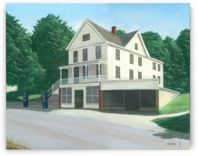 Botsford Store - Newtown Scenes  16X20 by Rick Kuhn