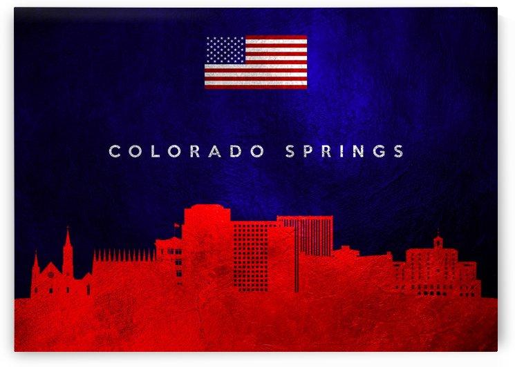 Colorado Springs Skyline by ABConcepts