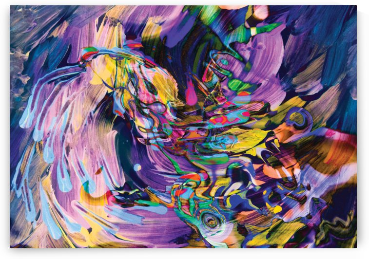 waving whirling flow by BBS Art