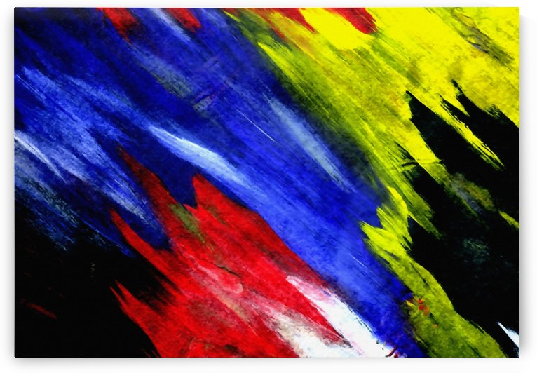 Colorful Brush Strokes by Bruce Rolff