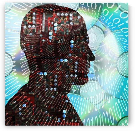 Cyborg by Bruce Rolff