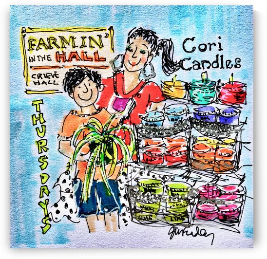 Cori Candles by Gerri Findley