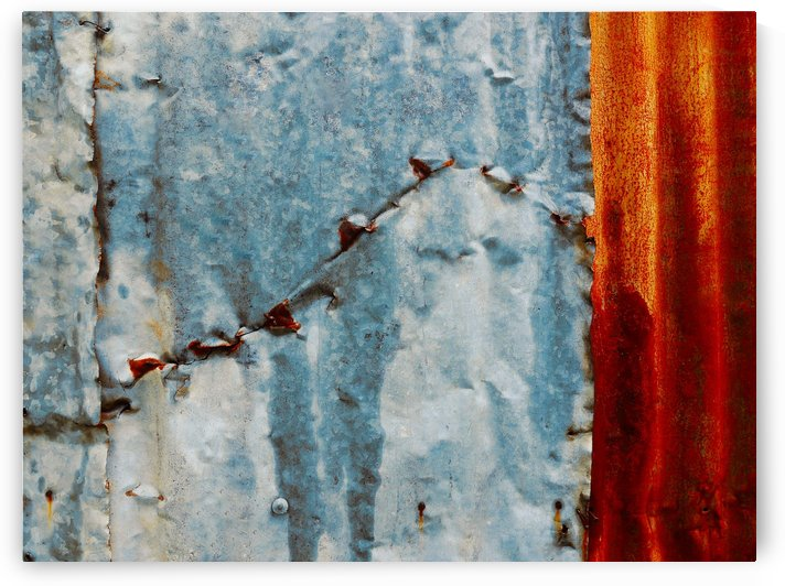 Corrugated Iron Series 9 by Lexa Harpell