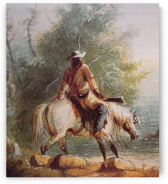 Portrait of Hunter by John James Audubon