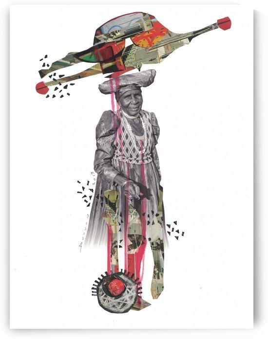 Herero Woman 8 by Marie-Denise Douyon