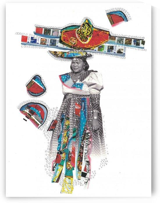 Herero Woman 7 by Marie-Denise Douyon