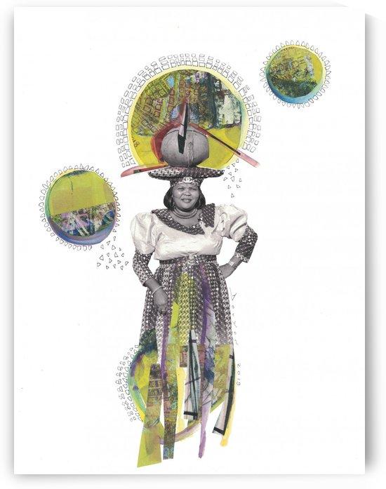 Herero Woman 4 by Marie-Denise Douyon