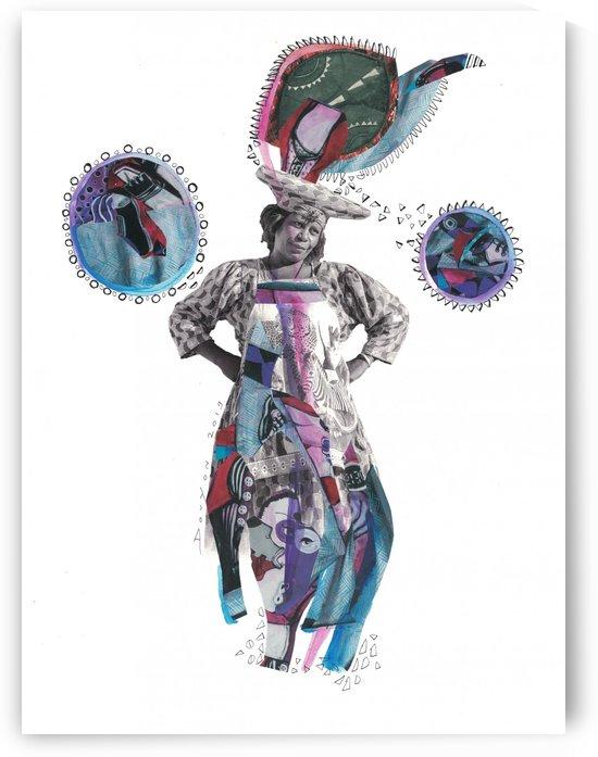 Herero Woman 3 by Marie-Denise Douyon