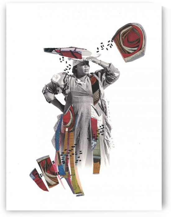 Herero woman 1 by Marie-Denise Douyon