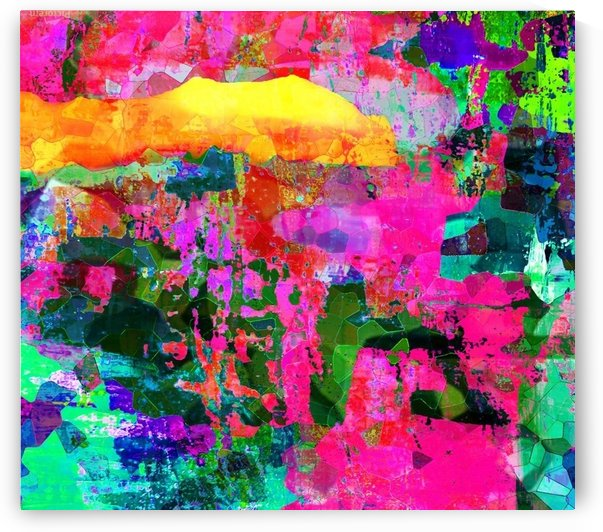 Hot Pink Lava by Connie Schofield Art